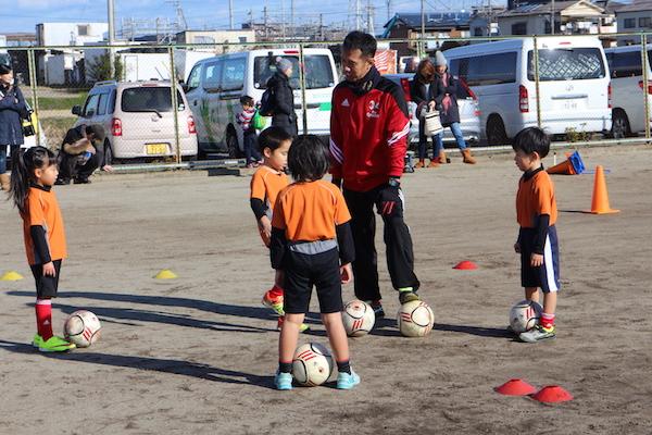 岩倉市ジュニアサッカークリニックを開催しました!