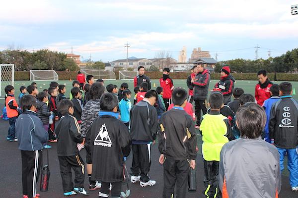 小牧市サッカークリニックを開催しましたしました!