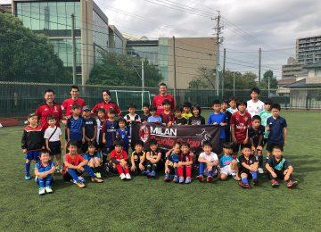 ジュニアサッカークリニック@名古屋を開催しました!