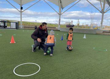 キッズサッカー教室@ららぽーと名古屋みなとアクルスを開催しました!
